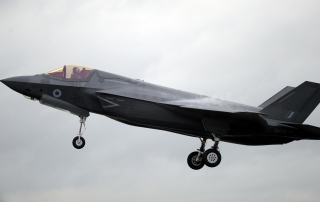 F35 LANDS RAF FAIRFORD9